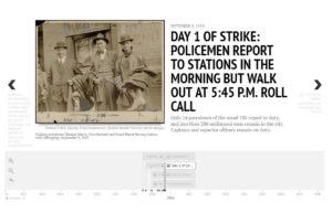 Timeline screenshot